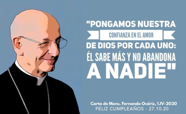 Cumpleaños del prelado del Opus Dei