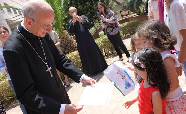 Opus Dei - 오푸스데이 단장 몬시뇰의 시칠리아 사목 방문