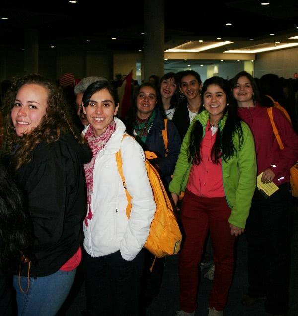 Pertemuan dengan Bapa Prelat Opus Dei pada Hari Kaum Muda Sedunia di Rio da Janeiro