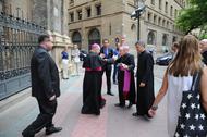 Galería fotográfica de la Bendición de las imágenes del beato Juan Pablo II y san Josemaría
