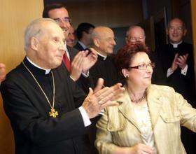 Прелат Opus Dei відвідав лікарню Центра опіки Лагуна