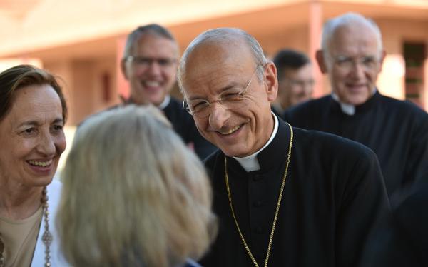 Arrivée du prélat de l'Opus Dei à Barcelone (14 juillet)