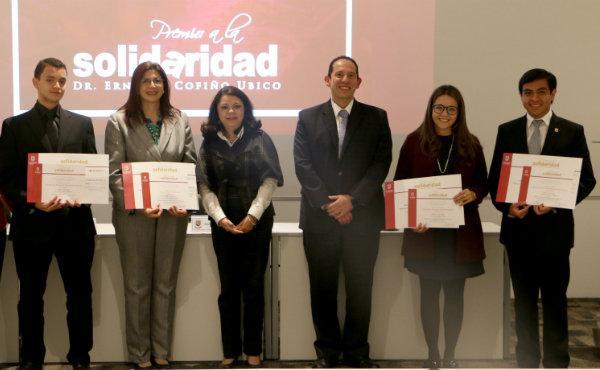 """Opus Dei - Edición 2016 del premio a la solidaridad """"Dr. Ernesto Cofiño Ubico"""""""