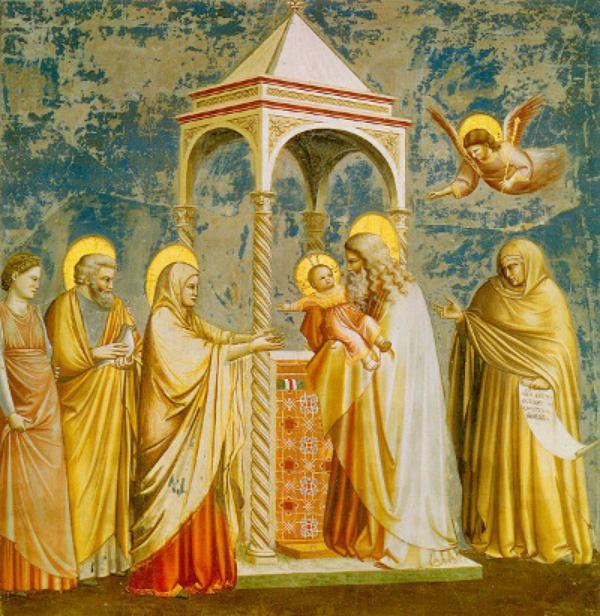 Життя Марії: Стрітення Ісуса Христа