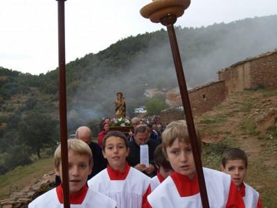 El 20 de noviembre se celebró la tradicional procesión con motivo de la fiesta de la 'Trobada de la Rosa'