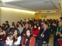 Público das xorndas celebradas no Colexio Maior Arosa