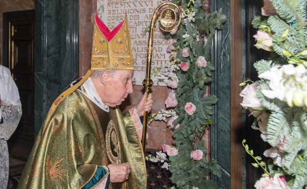 Clausura del año jubilar de la misericordia en Santa María de la Paz