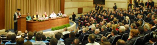 Honoris Causa de Comunicación en la Universidad Pontificia de la Santa Cruz