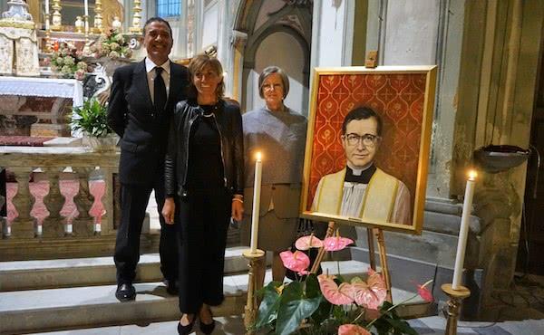 Opus Dei - Un quadro di san Josemaría a Garbagna