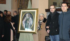 Un quadro di san Josemaría a Cagliari