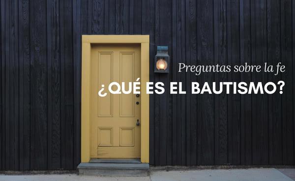 Opus Dei - ¿Qué es el Bautismo?