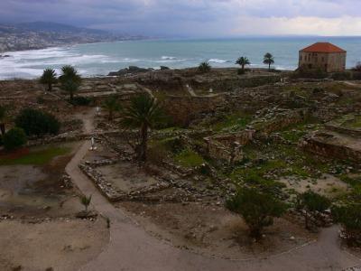 Restos de Byblos. Foto: Ferrán Canet