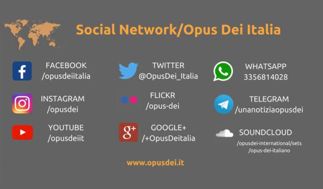 Opus Dei - 20 modi per rimanere aggiornati su di noi