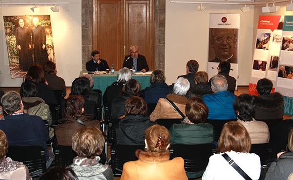 Opus Dei - L'exposició del centenari d'Álvaro del Portillo arriba a Ripoll