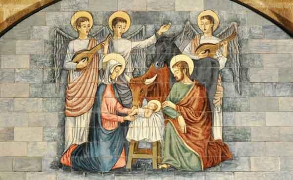 Opus Dei - Jezus wordt geboren in een stal van Betlehem