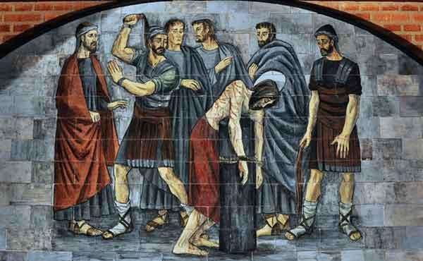 Opus Dei - Jezus wordt gegeseld