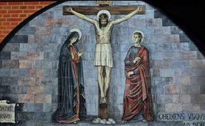 Jezus sterft aan het kruis