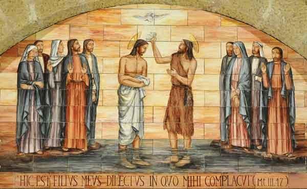 Opus Dei - Jezus wordt gedoopt in de Jordaan