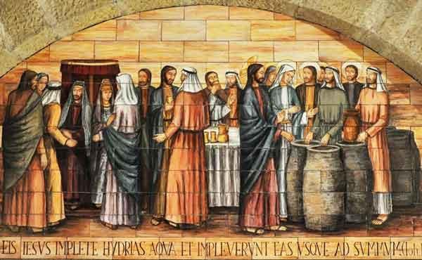 Opus Dei - Jezus openbaart zich op de bruiloft te Kana