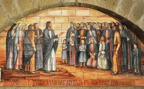 Opus Dei - Jezus verkondigt het Rijk Gods en roept op tot bekering