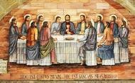 Jezus stelt de Eucharistie in