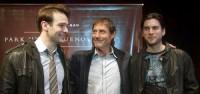 Charlie Cox, Roland Joffe und Wes Bentley