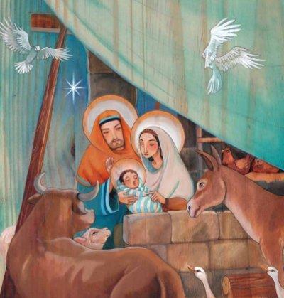 Tercer misterio gozoso: El nacimiento del Hijo de Dios en Belén