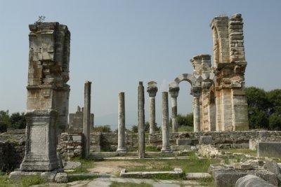 Images des ruines de Philippe