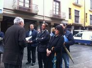 Prueba piloto de la 'Ruta San Josemaría' en Barbastro