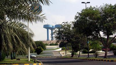 Ruwais ein Lager in den Vereinigten Arabischen Emiraten, zweieinhalb Stunden von Abu Dhabi entfernt.