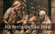 Na festa de S. José