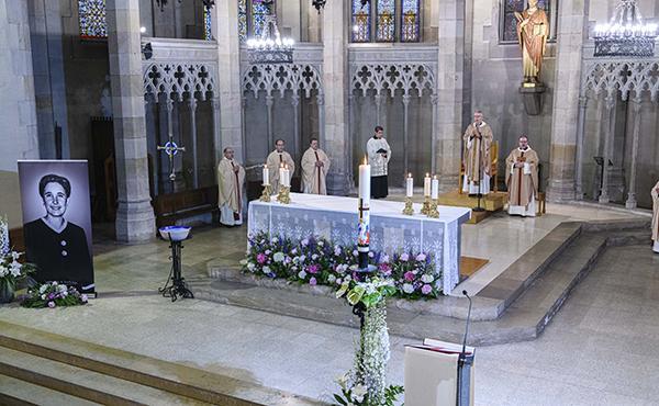 Missa d'acció de gràcies per la beatificació de Guadalupe a Sabadell