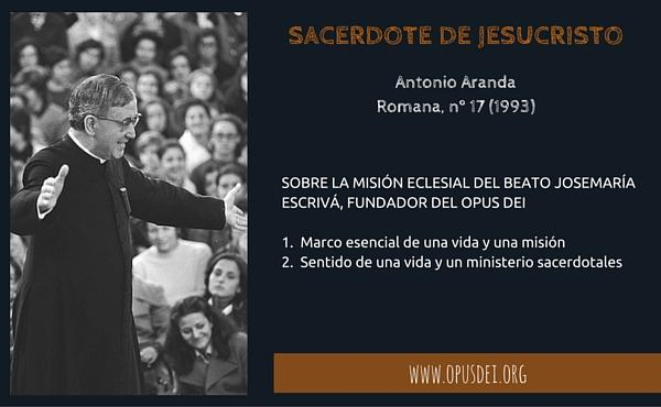 Opus Dei - Sacerdote de Jesucristo