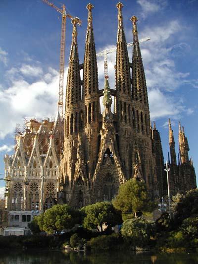 Templo Expiatorio de la Sagrada Familia, en Barcelona