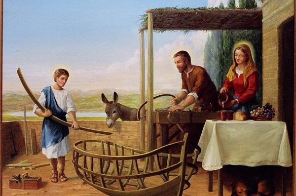 Nazaretański warsztat: jedność życia