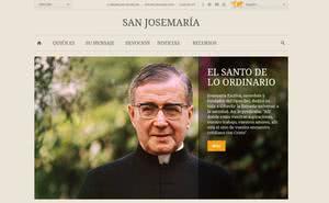 Un website para san Josemaría
