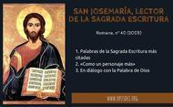 San Josemaría Escrivá, lector de la Sagrada Escritura