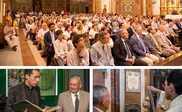 Opus Dei - La Hermandad de la Macarena recuerda la oración de san Josemaría Escrivá ante la Esperanza