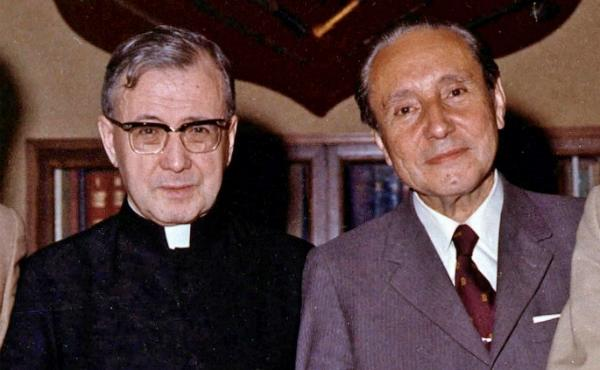 Tomás Alvira's first meeting with St. Josemaría