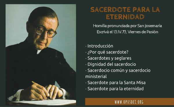 Opus Dei - Sacerdote para la eternidad