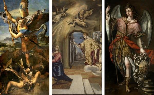 Opus Dei - De heliga ärkeänglarna Mikael, Gabriel och Rafael