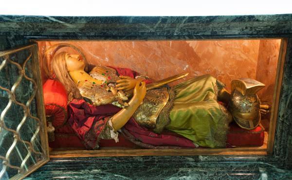 Opus Dei - El culto al mártir san Severino