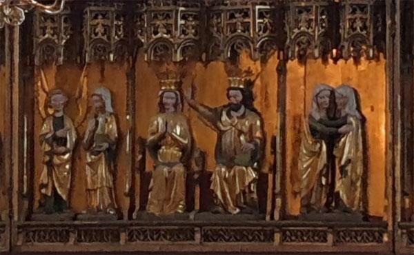 Om vördnad för jungfru Maria och rosenkransen