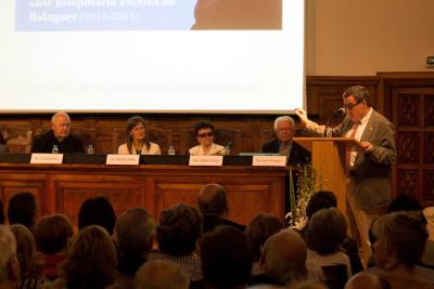 L'alcalde de Lleida, Ángel Ros, durant la seva intervenció. Foto: MC