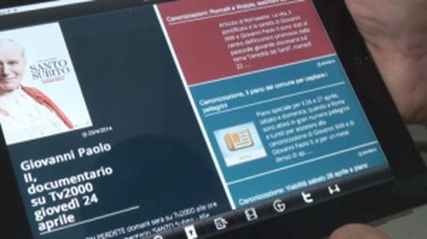 Santo Subito!, una app per la canonizzazione di Giovanni Paolo II