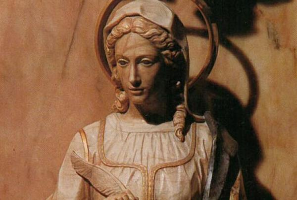 Saint Catherine of Siena, Intercessor of Opus Dei
