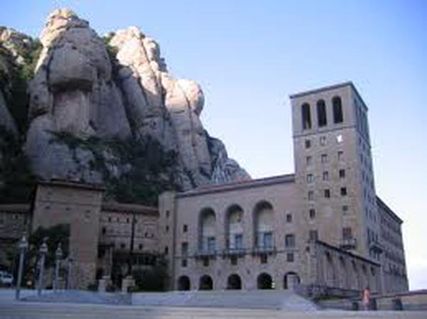 Saint Josemaria and Our Lady of Montserrat