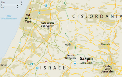 Saxum se está construyendo a pocos kilómetros de Jerusalén.