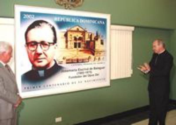 Primer sello dedicado a Josemaría Escrivá en la República Dominicana