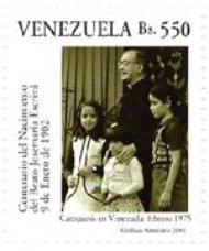 Postzegelserie toegewijd aan Josemaría Escrivá
